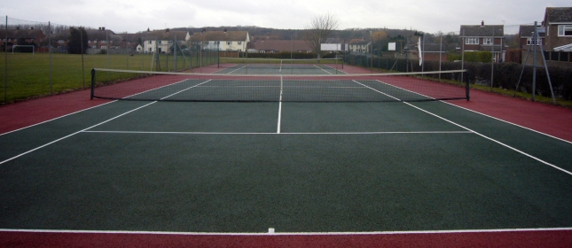 The Tennis Court, Great Staughton Playing Field